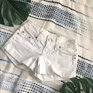 True Religion Allie Cuffed Shorts